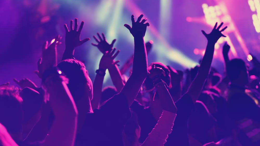 Drugs and Music North Jersey Recovery Center - A group of partygoers attend a music concert where there is a surplus of drugs and alcohol around